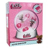 LOL SURPRISE - L.O.L. Surprise!! – trousse Shake Globe – Kit de Création de Boule à Paillettes – Modèle Aléatoire (Import UK)