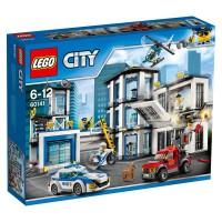 LEGO - LEGO City - Le commissariat de police - 60141 - Jeu de Construction