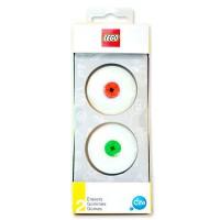 LEGO - pack gomme à effacer Lego de 2 + 2 pièces Lego