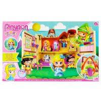 FAMOSA - Pinypon - 700012406 - Mini Poupée - la Maison des Contes de Fée + 1 Figurine
