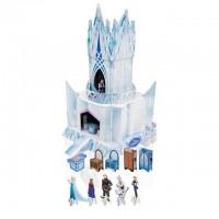 DISNEY - Disney Frozen - Maquette en carton du palais avec personnages et mobilier