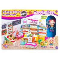 FAMOSA - Barriguitas–Supermarché Super, Multicolore (Famosa 700014516)