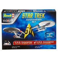 REVELL - Star Trek anniversaire Set modèle
