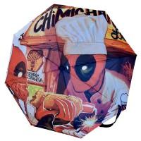 BIOWORLD - Marvel Deadpool Chimichanga Bouteille / Gourde Parapluie PARAPLUIE