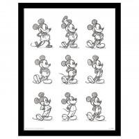 PYRAMID - Vintage Disney Mickey encadrée