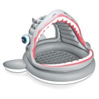 INTEX - INTEX 57120NP–Salle de Bain Requin Pataugeoire Multicolore
