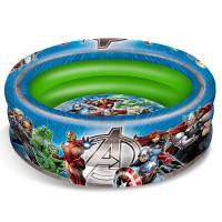 MONDO - Mondo Spa 16609 Piscine Gonflable Avengers Diametre 100CM150, Multicolore, 20, 5000 x 5, 0000 x 28, 5000 cm