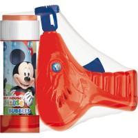 DULCOP - Disney pistolet de bulle Mickey + bouteille bulles
