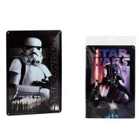 DISNEY - Disney Star Wars métal de la plaque d assortiment