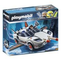 PLAYMOBIL - Playmobil Voiture de L'Agent Pilote, 9252