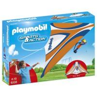 PLAYMOBIL - Playmobil-9205 Deltaplane Orange, 9205