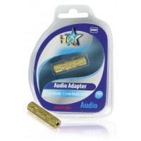 HQ adaptateur audio3.5mm femelle - 3.5mm femelle stéréo