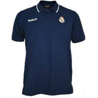 REAL MADRID - junior bouclier brodé bleu marine Polo Real Madrid [AB3915] 12/14