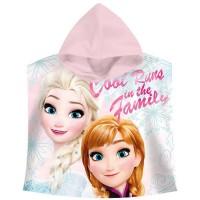 Disney Princess Cape de Bain La Reine des Neiges - Frozen, WD17733, Multicolore, 27x31x2 cm
