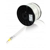 König câble coaxial 90 dB en bobine de 100 m blanc