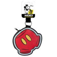 CERDA - CerdA Porte-clés Monedero Mickey Trousse de Toilette, 11 cm, Rouge (Rouge)