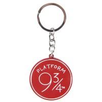 CERDA - CerdA Porte-clés Andén Harry Potter Sac à Dos Loisir, 10 cm, Rouge (Rouge)