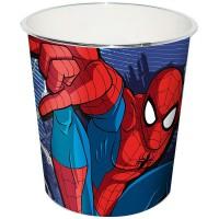 KIDS LICENSING - A2Z 4 Kids Enfants Spiderman Poubelle, Rouge, 20x 20x 22cm