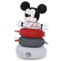DISNEY - Jouet de Play - Disney 760016643. Anillos de apilamiento Mickey Mouse.