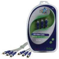 CABLE VIDEO COMPONENT SILVER HQ - 2.5m