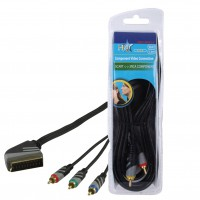 CABLE DE CONVERSION VIDEO ANALOGIQUE HQ - 1.5m