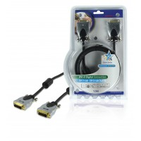 CABLE D'EXTENSION DVI-D DUAL LINK HAUTE QUALITE - 1.50m