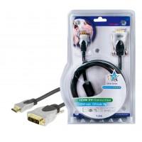 CABLE DE CONNEXION HDMI-DVI HQ - 1.5m