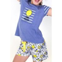 AZNAR INNOVA - Smiley Pensez tween positif Pyjama