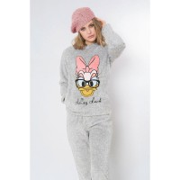 DISNEY - Pyjama Daisy Disney Daisy Duck adulte corail