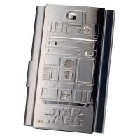 DISNEY - Estuche tarjetas Wars R2-visita D2 étoiles