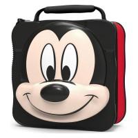 STOR - Sac à goûter 3D avec Bouteille Mickey Mouse