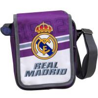 CYP BRANDS - Sac à bandoulière Real Madrid Con Solapa Mochila Hombro Bolsa