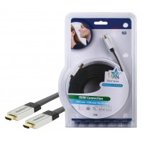 CABLE HDMI HIGH SPEED PLAT HAUTE QUALITE HQ - 5m