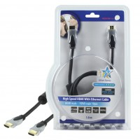 CABLE HDMI HIGH SPEED AVEC ETHERNET - 1m