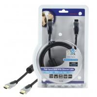 HQ câble HDMI haute vitesse avec Ethernet