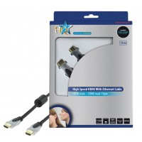 CABLE HDMI HIGH SPEED AVEC ETHERNET - 15m