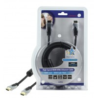CABLE HDMI HIGH SPEED AVEC ETHERNET - 2m