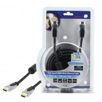 CABLE HDMI HIGH SPEED AVEC ETHERNET - 7.5m