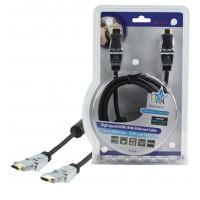 CABLE HDMI® HAUTE VITESSE AVEC ETHERNET HAUTE QUALITE HQ - 1.5m