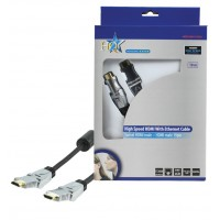 CABLE HDMI HIGH SPEED AVEC ETHERNET HQ - 10m