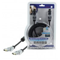 CABLE HDMI HIGH SPEED AVEC ETHERNET HQ - 2.5