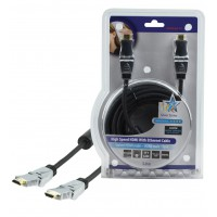 CABLE HDMI HIGH SPEED AVEC ETHERNET HQ - 5m