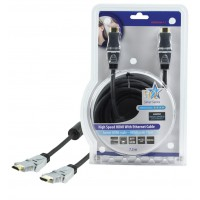 CABLE HDMI HIGH SPEED AVEC ETHERNET HQ - 7.5m