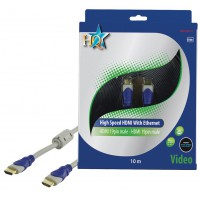 CABLE HDMI HIGH SPEED MALE 19P - MALE 19P HQ - 10m