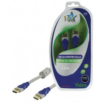CABLE HDMI HIGH SPEED MALE 19P - MALE 19P HQ - 2m