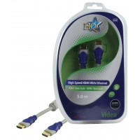 CABLE HDMI HIGH SPEED MALE 19P - MALE 19P HQ - 5m