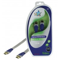 CABLE HDMI HIGH SPEED 19P MALE - 19P MALE PLAT HQ - 1.5m