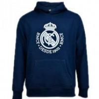 REAL MADRID - sweat-shirt Real sweat à capuche junior bleu marine Madrid