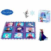 DISNEY - Disney Frozen puzzle carpet EVA rubber