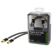 CABLE HDMI HIGH SPEED - 0.75m
